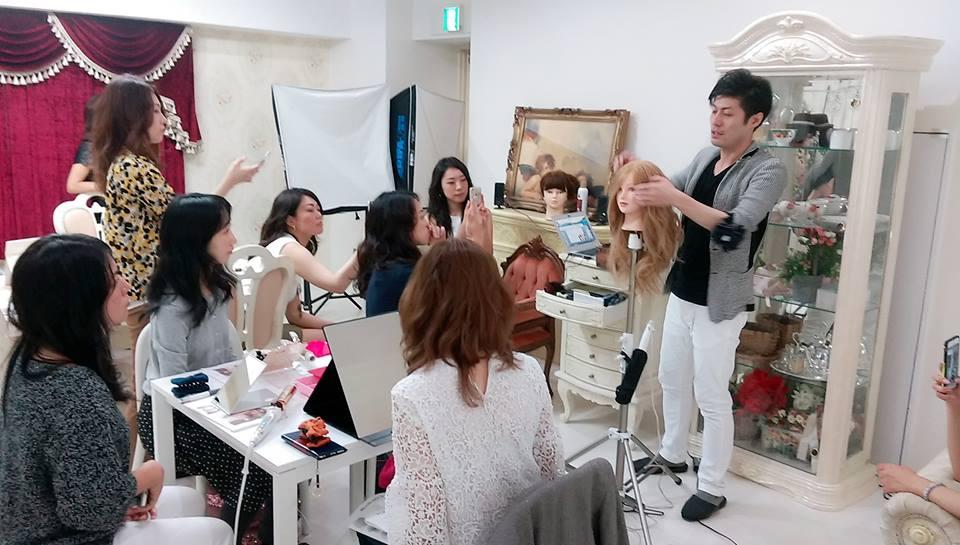 1001モテまとめ髪セミナー1